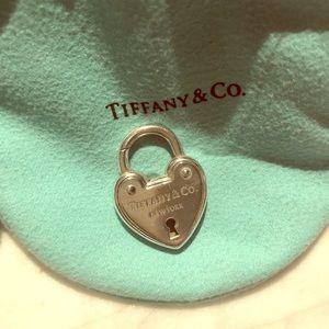 Tiffany & Co. large arc heart lock charm